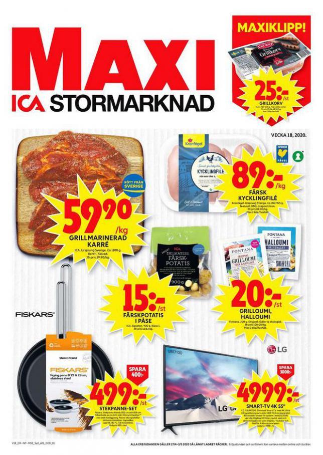 ICA Maxi Erbjudanden . ICA Maxi (2020-05-03-2020-05-03)
