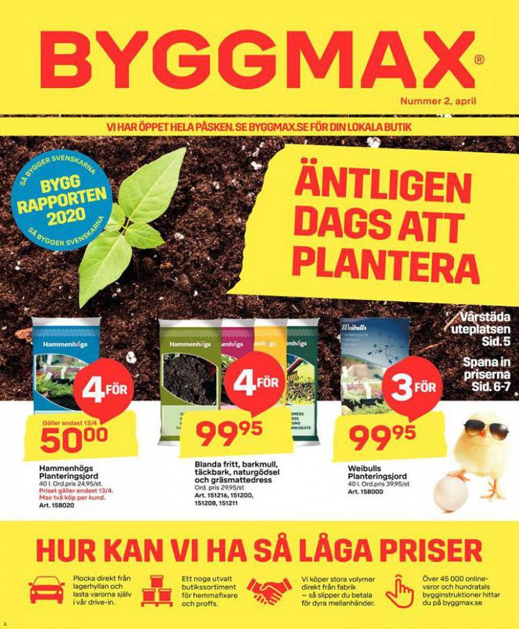 Byggmax Erbjudande Kampanjer . Byggmax (2020-04-19-2020-04-19)