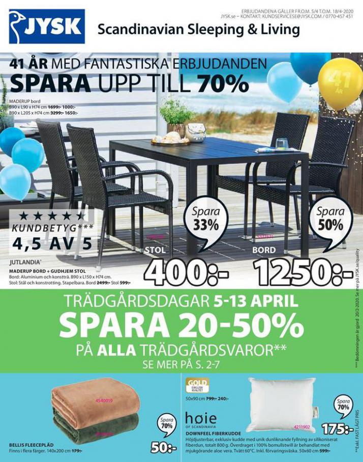 JYSK Erbjudande Spara upp till 70% . JYSK (2020-04-18-2020-04-18)