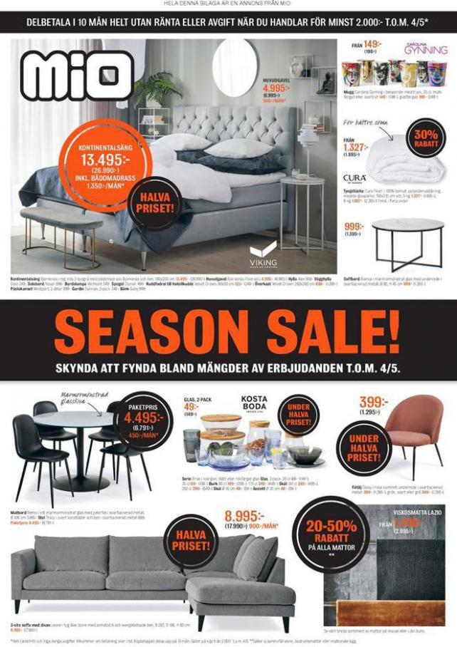 Mio Erbjudande Season Sale! . Mio (2020-05-04-2020-05-04)