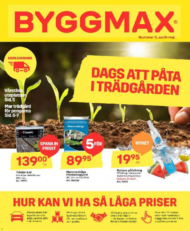Byggmax Erbjudande Kampanjer . Byggmax (2020-05-03-2020-05-03)