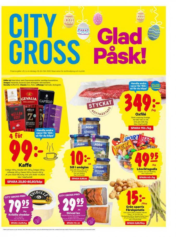 City Gross reklamblad . City Gross (2020-04-13-2020-04-13)