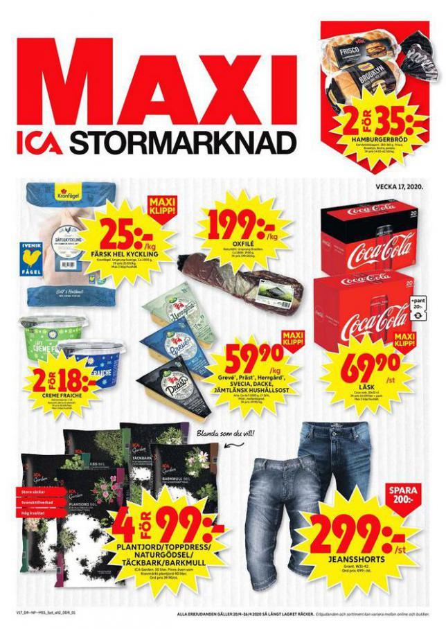 ICA Maxi Erbjudanden . ICA Maxi (2020-04-26-2020-04-26)
