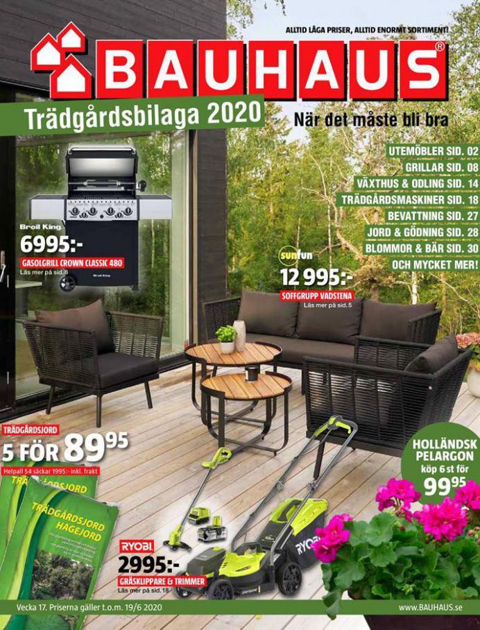 Bauhaus Erbjudande Trädgårdsbilaga 2020 . Bauhaus (2020-06-19-2020-06-19)