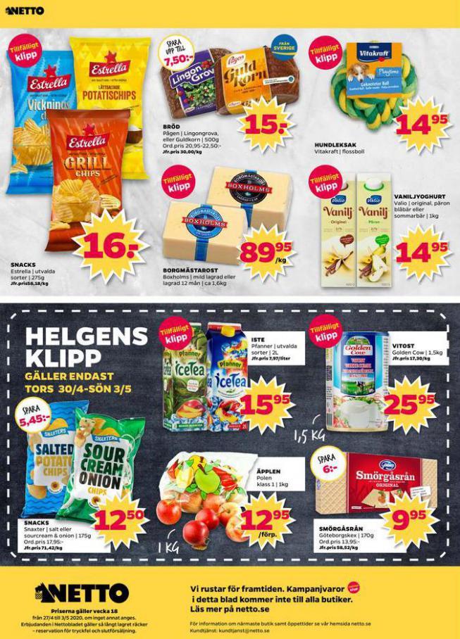 Nettobladet v18 2020 . Page 12