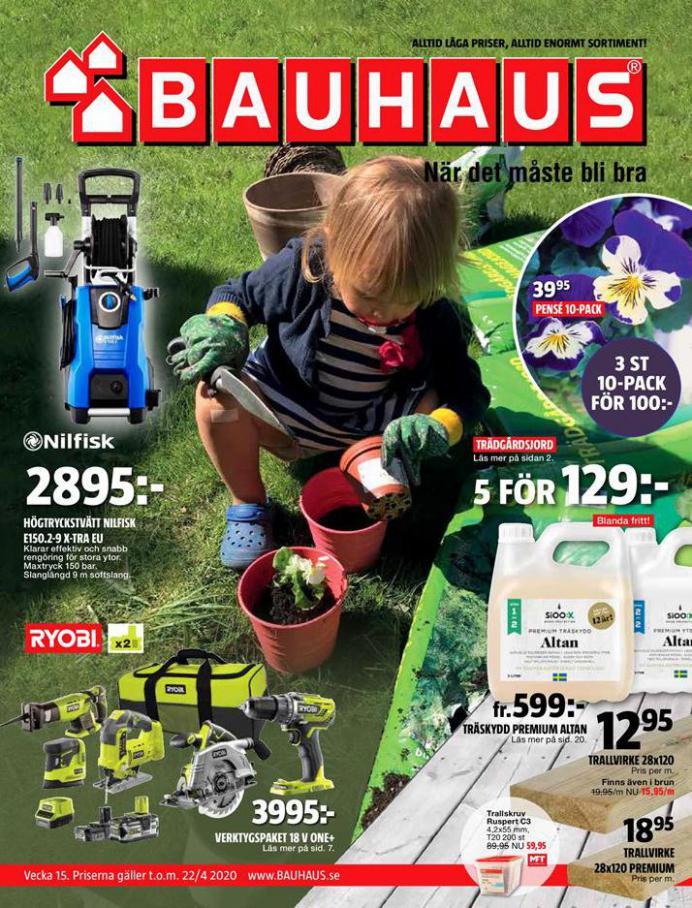 Bauhaus Erbjudande Aktuella Kampanjer . Bauhaus (2020-04-22-2020-04-22)