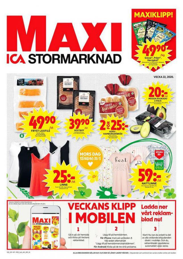 ICA Maxi Erbjudanden . ICA Maxi (2020-05-31-2020-05-31)