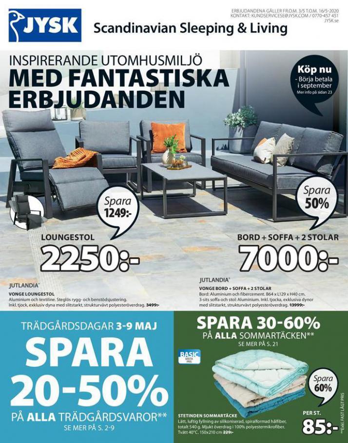 JYSK Erbjudande Med Fantastiska Erbjudanden . JYSK (2020-05-16-2020-05-16)