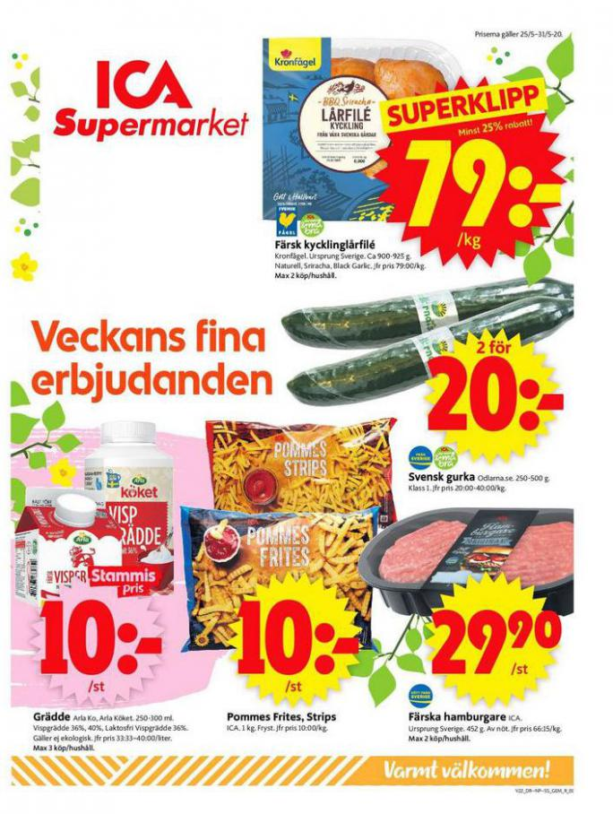 ICA Supermarket Erbjudanden . ICA Supermarket (2020-05-31-2020-05-31)