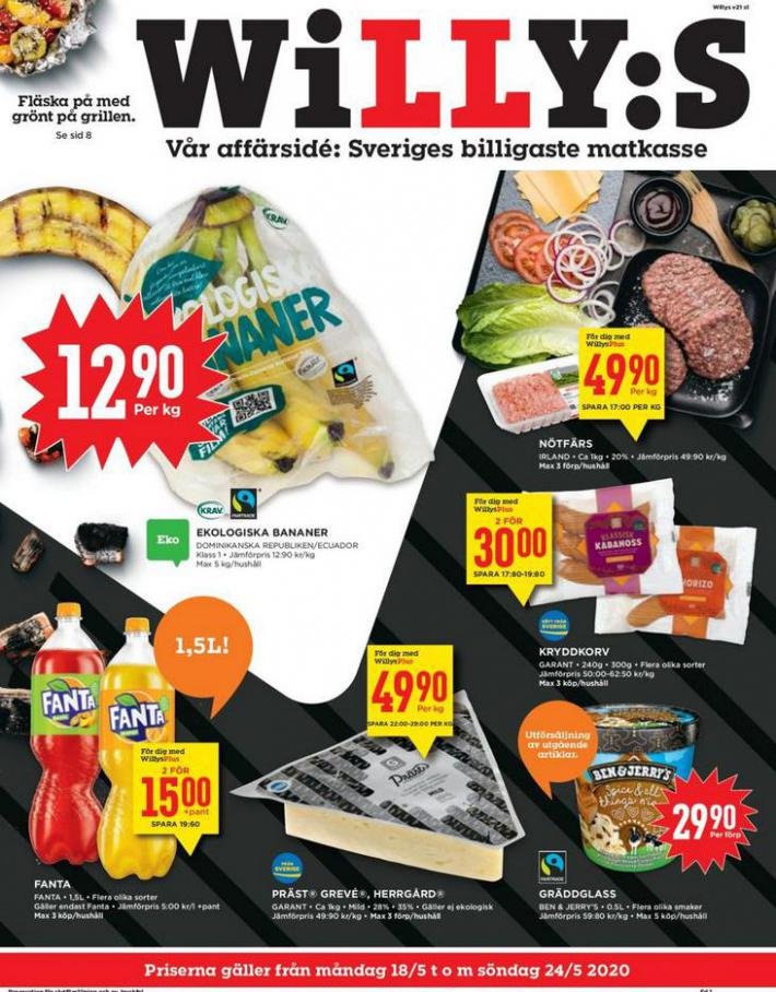 Willys reklamblad . Willys (2020-05-24-2020-05-24)