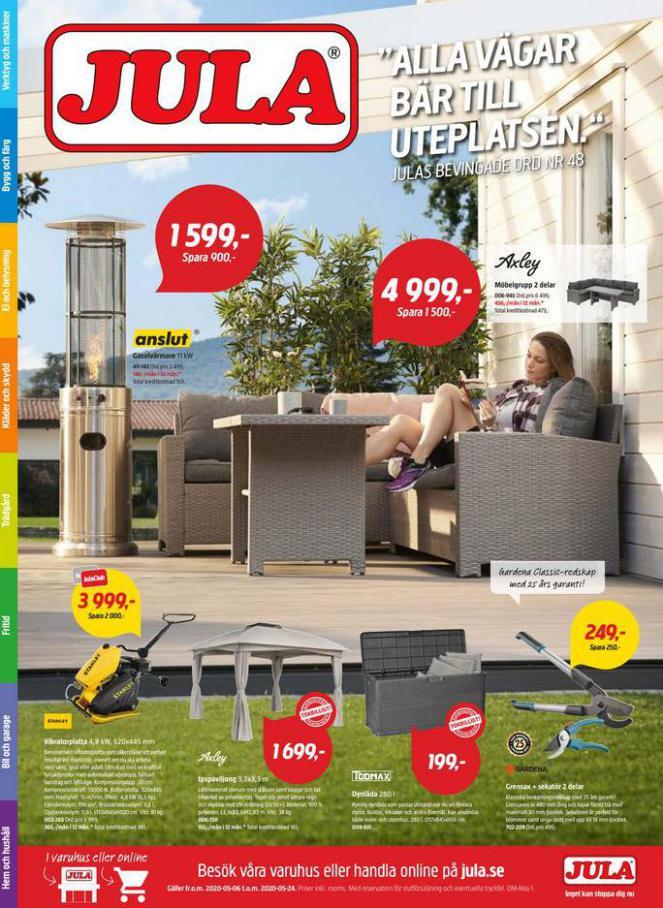 Jula reklamblad . Jula (2020-05-24-2020-05-24)