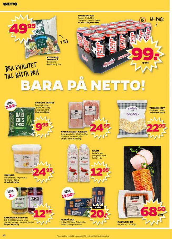 Nettobladet v19 2020 . Page 10