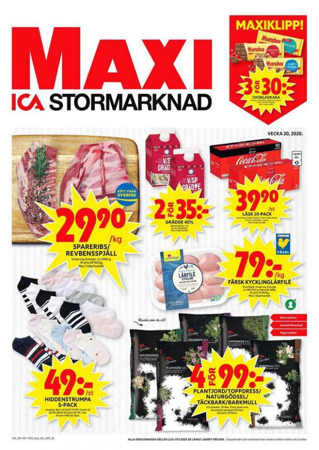 ICA Maxi Erbjudanden . ICA Maxi (2020-05-17-2020-05-17)