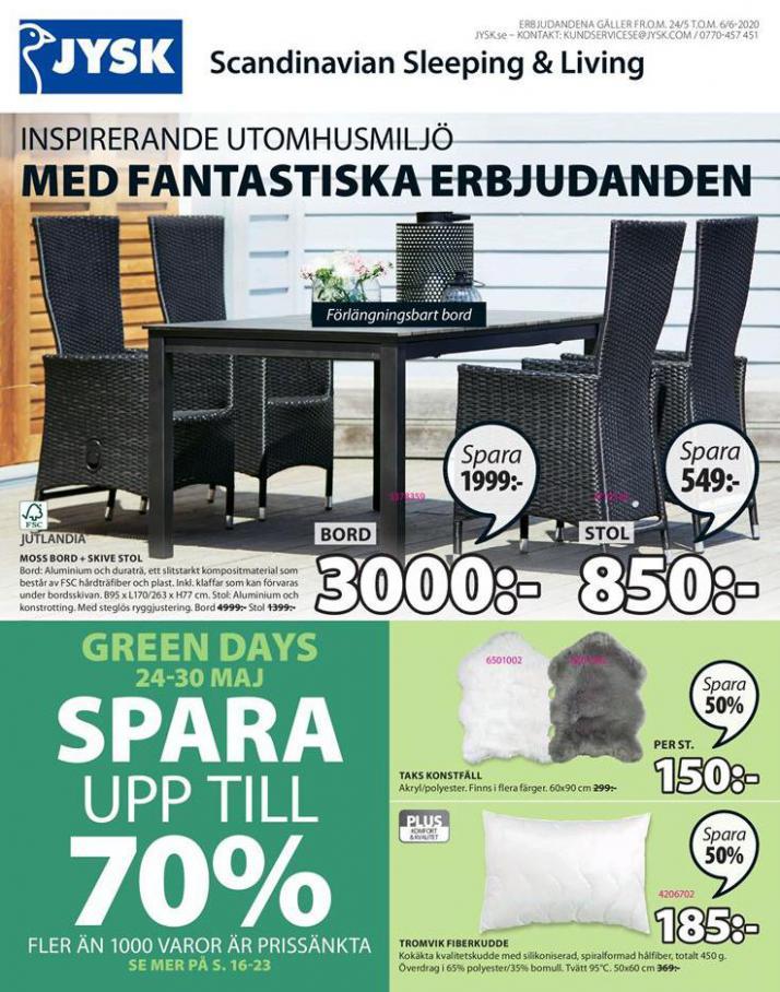 JYSK Erbjudande Inspirerande Utomhusmiljö . JYSK (2020-06-06-2020-06-06)