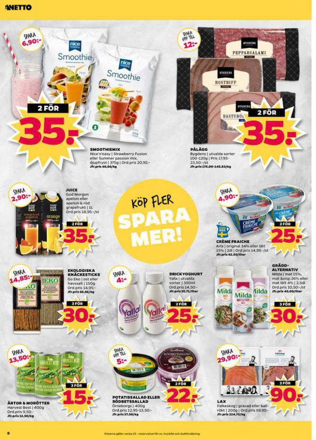 Nettobladet v19 2020 . Page 8