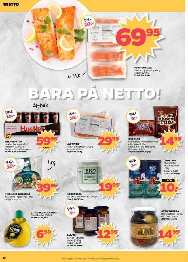 Nettobladet v21 2020 . Page 10