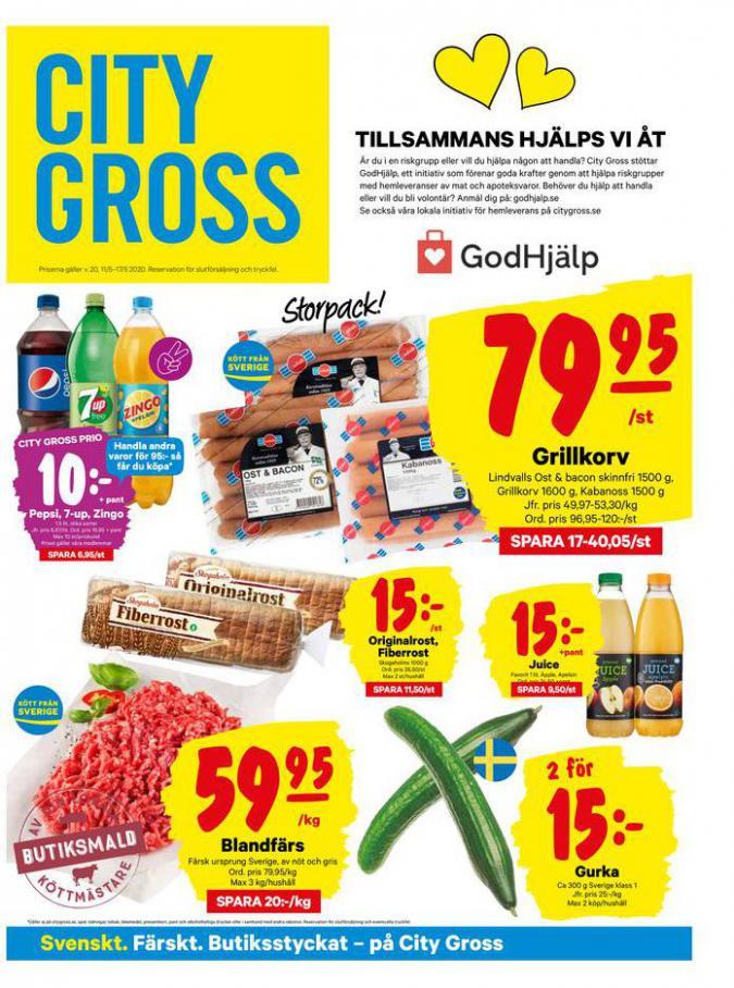 City Gross reklamblad . City Gross (2020-05-17-2020-05-17)