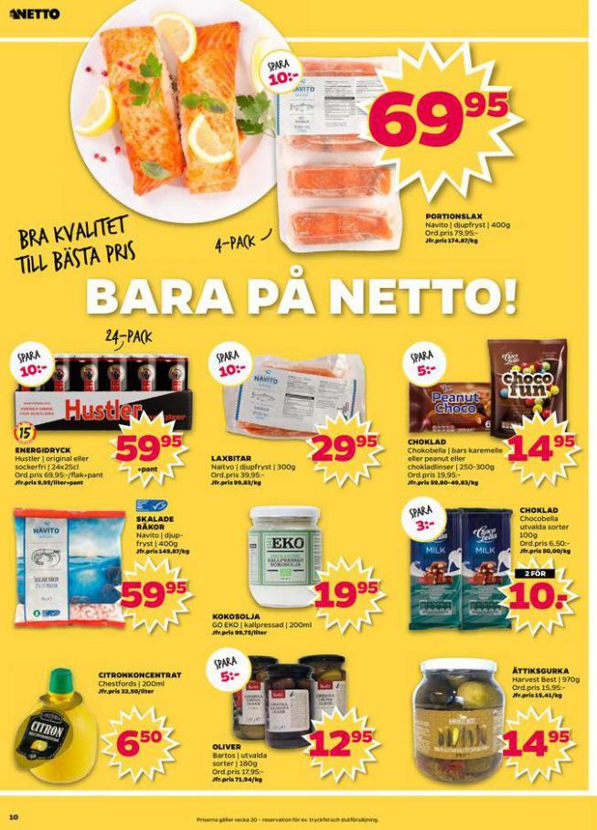 Nettobladet v20 2020 . Page 10