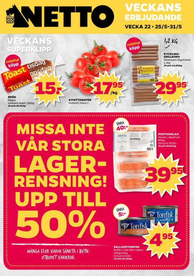 Nettobladet v22 2020 . Netto (2020-05-31-2020-05-31)
