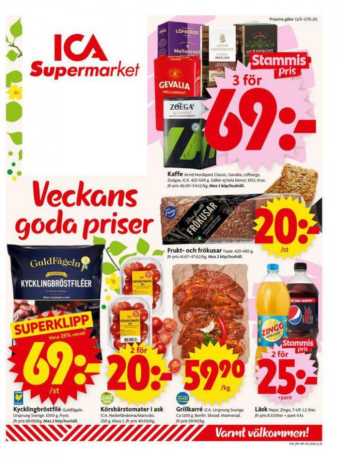 ICA Supermarket Erbjudanden . ICA Supermarket (2020-05-17-2020-05-17)