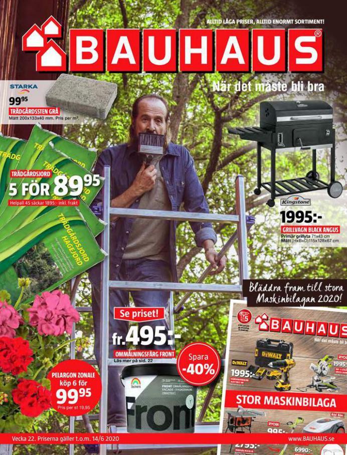 Bauhaus Erbjudande Aktuella Kampanjer . Bauhaus (2020-06-14-2020-06-14)