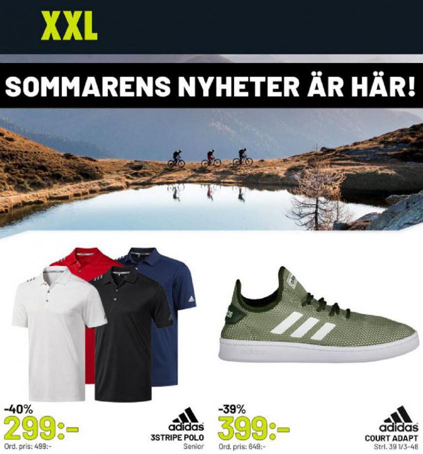 XXL Erbjudande Sommarens Nyheter är här! . XXL (2020-05-10-2020-05-10)