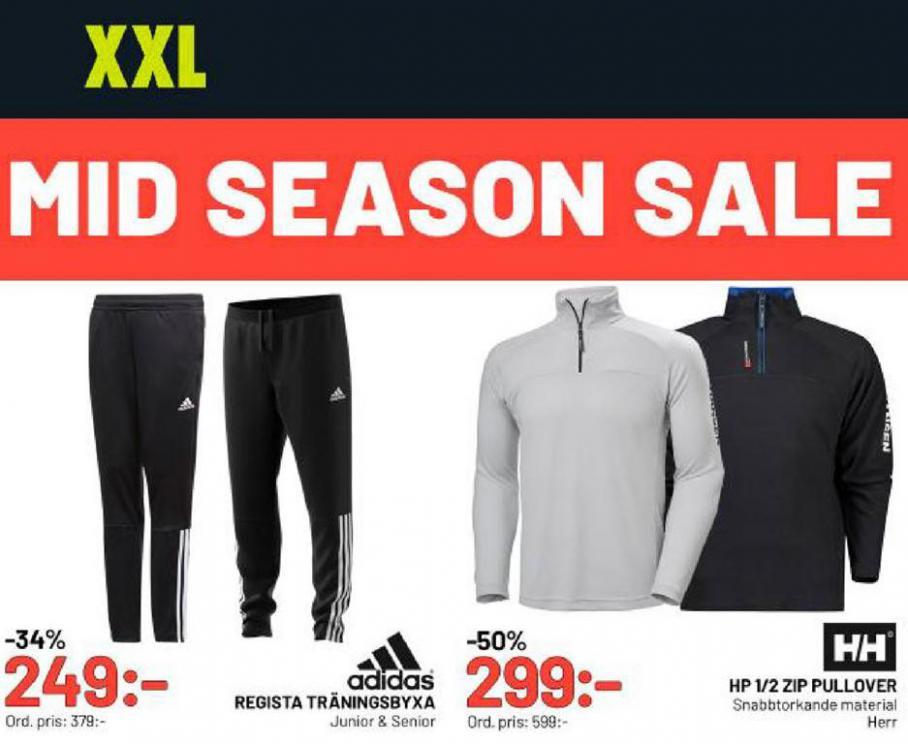 XXL Erbjudande Mid Season Sale . XXL (2020-05-17-2020-05-17)