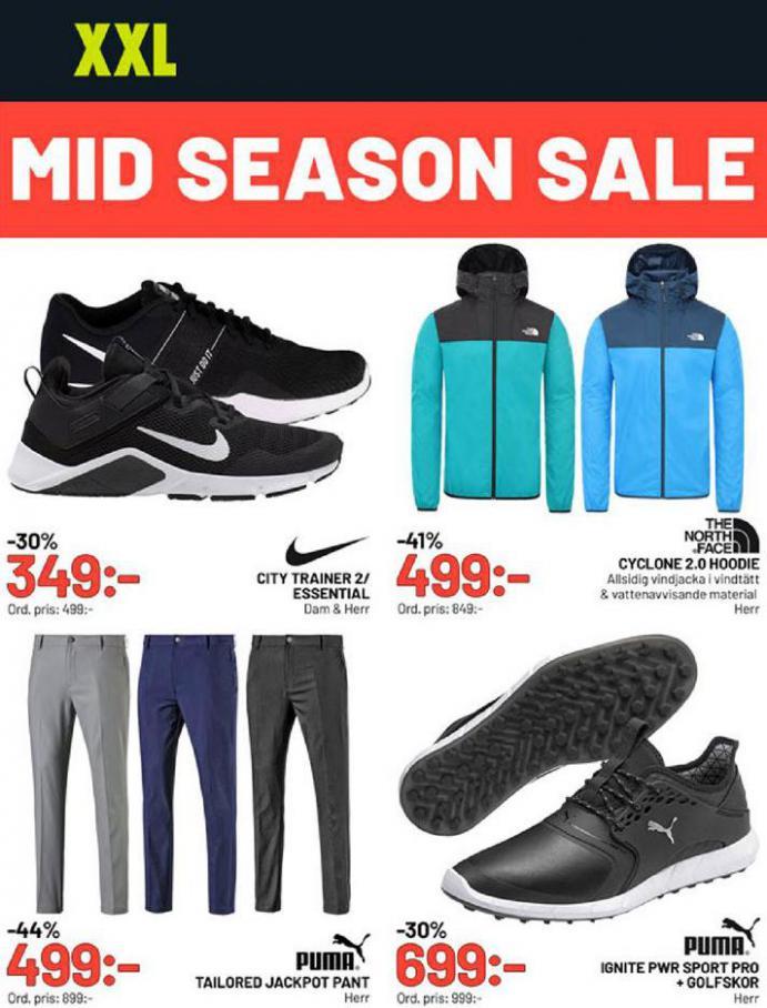 XXL Erbjudande Mid Season Sale . XXL (2020-05-24-2020-05-24)
