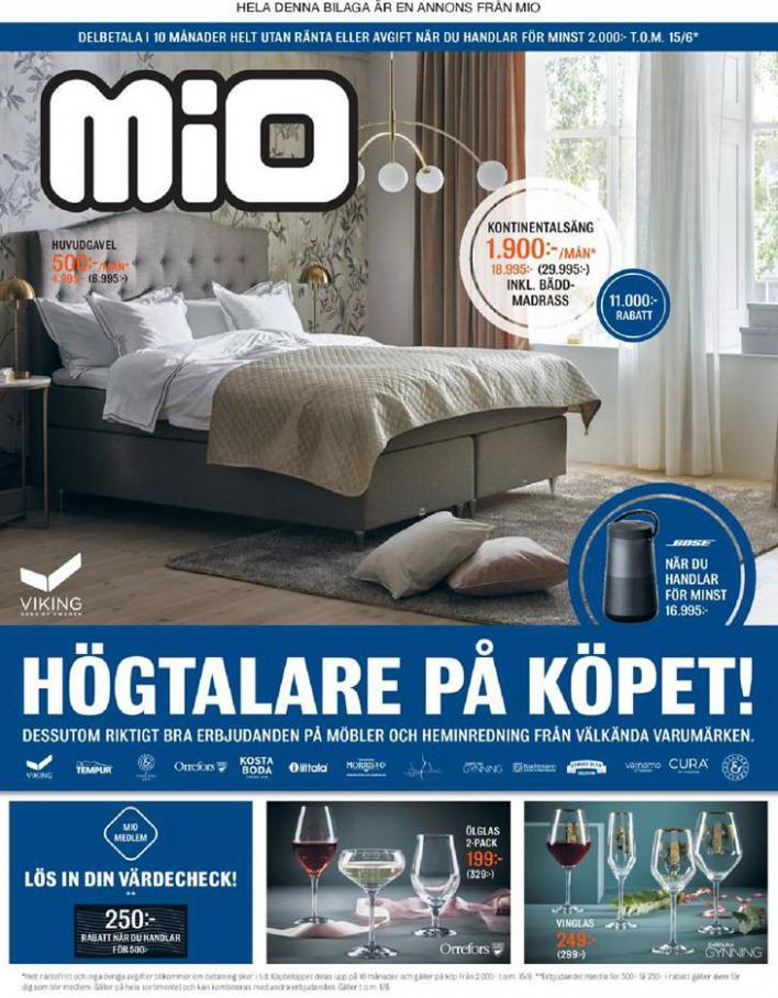 Mio Erbjudande Högtalare på Köpet! . Mio (2020-06-15-2020-06-15)