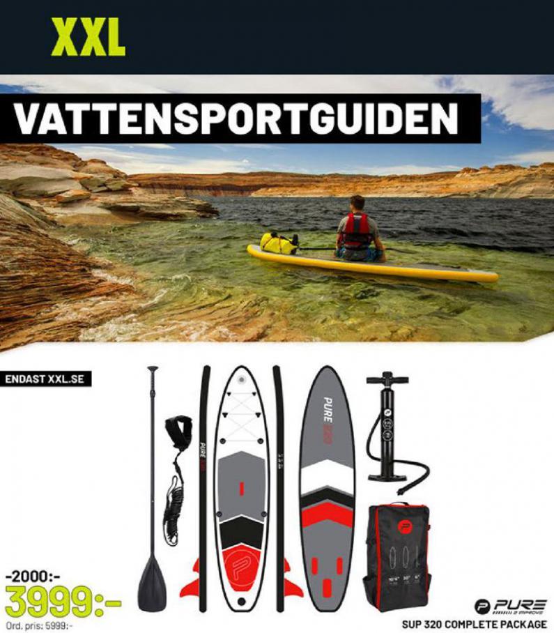 XXL Erbjudande Vattensportguiden . XXL (2020-05-24-2020-05-24)