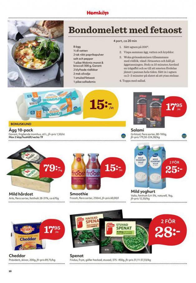 Hemköp reklamblad . Page 10