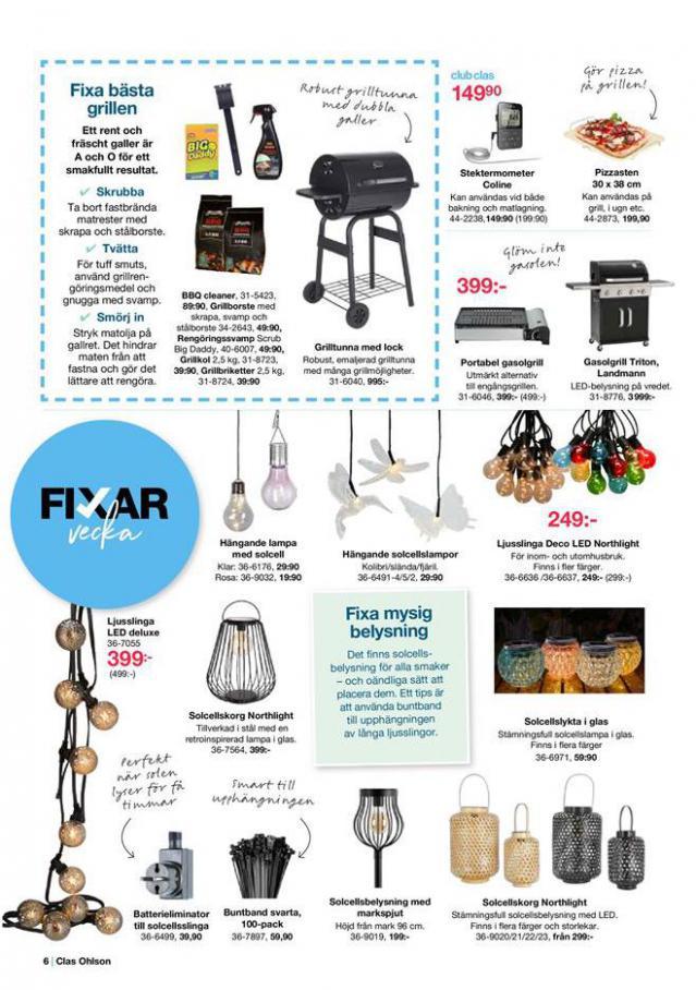Clas Ohlson Erbjudande Fixar Vecka . Page 6