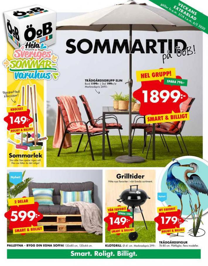 ÖoB Erbjudande  Sommartid på ÖoB! . ÖoB (2020-05-06-2020-05-06)