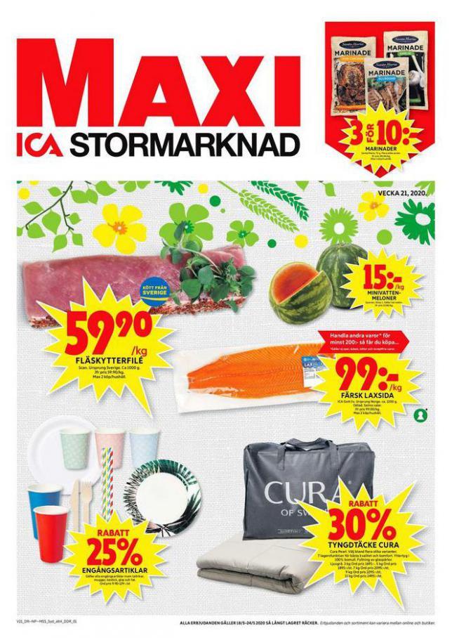 ICA Maxi Erbjudanden . ICA Maxi (2020-05-24-2020-05-24)