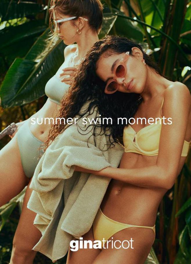 Summer Swim Moments . Gina Tricot (2020-07-12-2020-07-12)