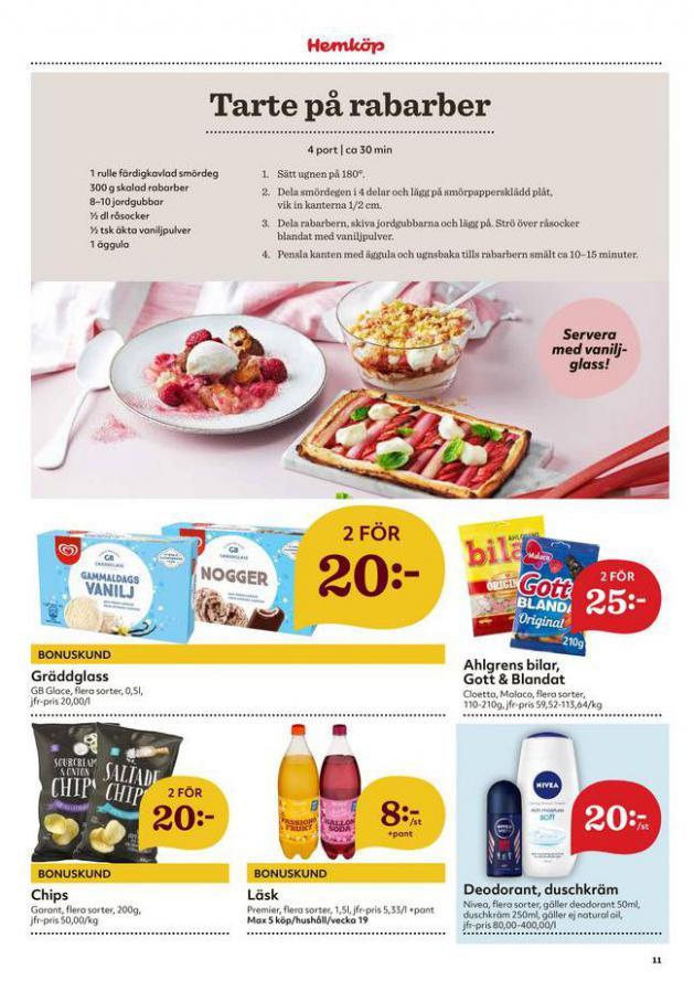 Hemköp reklamblad . Page 11