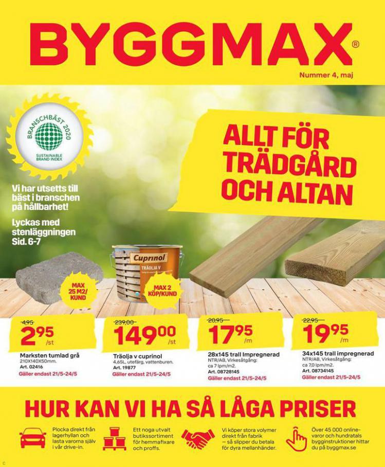 Byggmax Erbjudande Kampanjer . Byggmax (2020-05-28-2020-05-28)