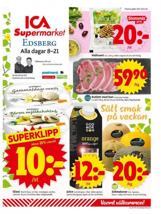 ICA Supermarket Erbjudanden . ICA Supermarket (2020-05-24-2020-05-24)