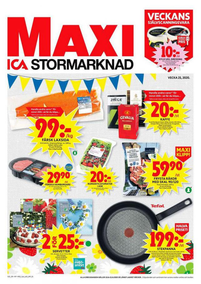 ICA Maxi Erbjudanden . ICA Maxi (2020-06-21-2020-06-21)