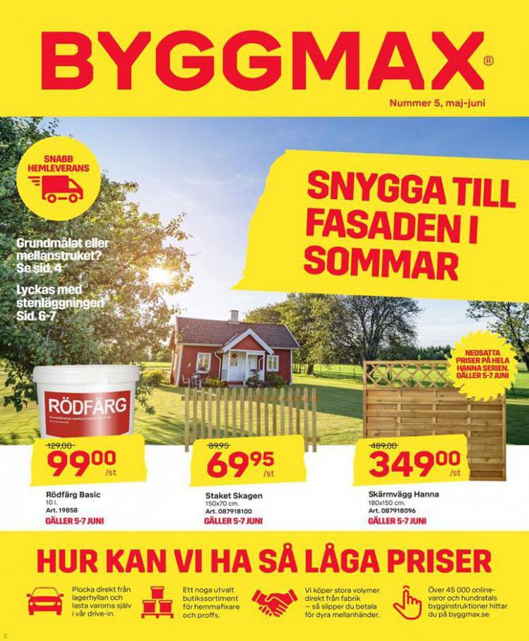 Byggmax Erbjudande Kampanjer . Byggmax (2020-06-11-2020-06-11)