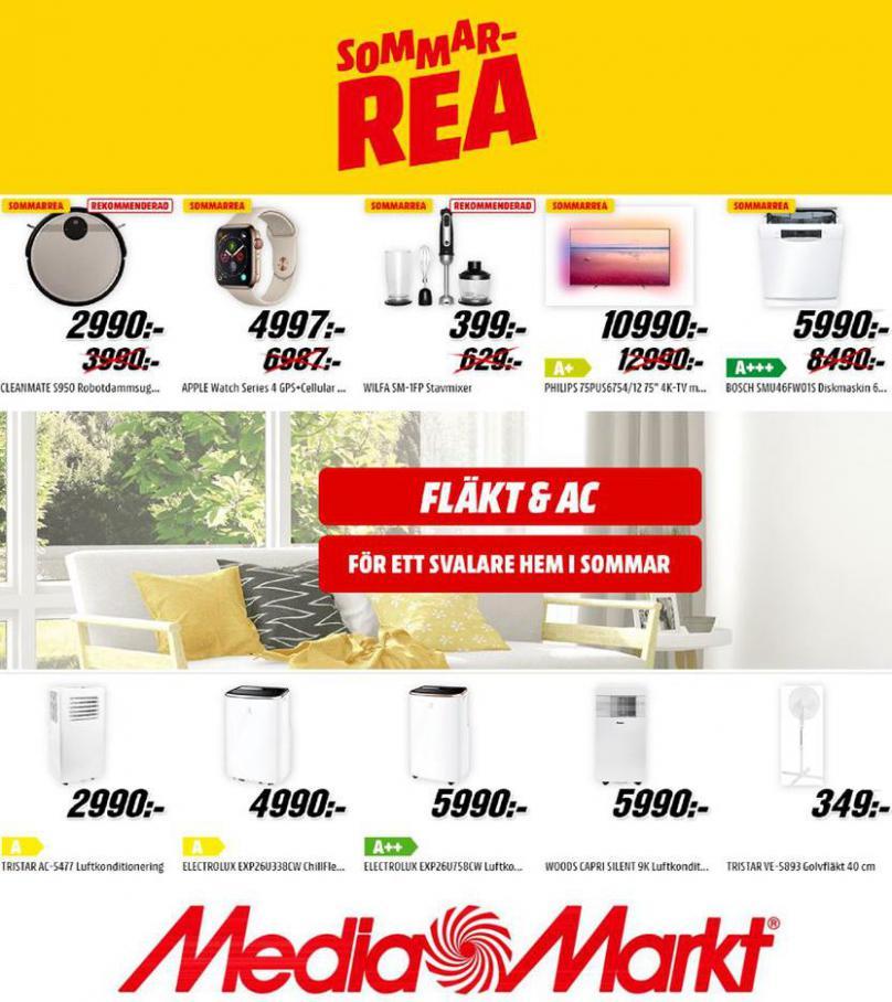 Media Markt Erbjudande Sommar Rea . Media Markt (2020-07-31-2020-07-31)