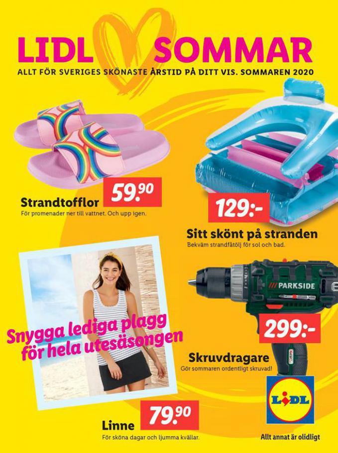 Sommarbroschyr 2020 . Lidl (2020-09-22-2020-09-22)