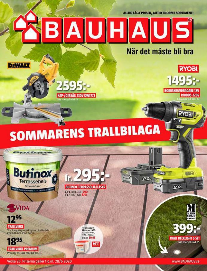 Bauhaus Erbjudande Aktuella Kampanjer . Bauhaus (2020-06-28-2020-06-28)