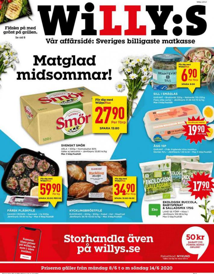 Willys reklamblad . Willys (2020-06-14-2020-06-14)
