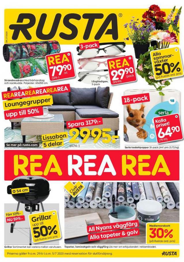 Rusta Erbjudande Kampanjer . Rusta (2020-07-05-2020-07-05)