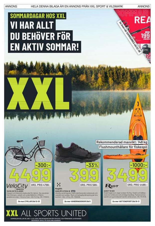 XXL Erbjudande Sommardagar Hos XXL . XXL (2020-07-05-2020-07-05)