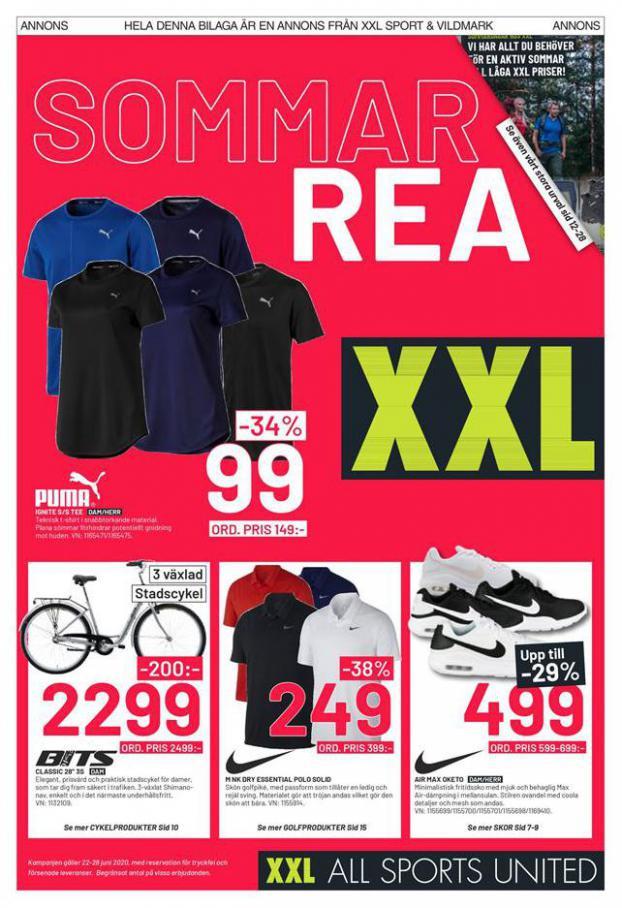 XXL Erbjudande Sommar Rea . XXL (2020-06-28-2020-06-28)