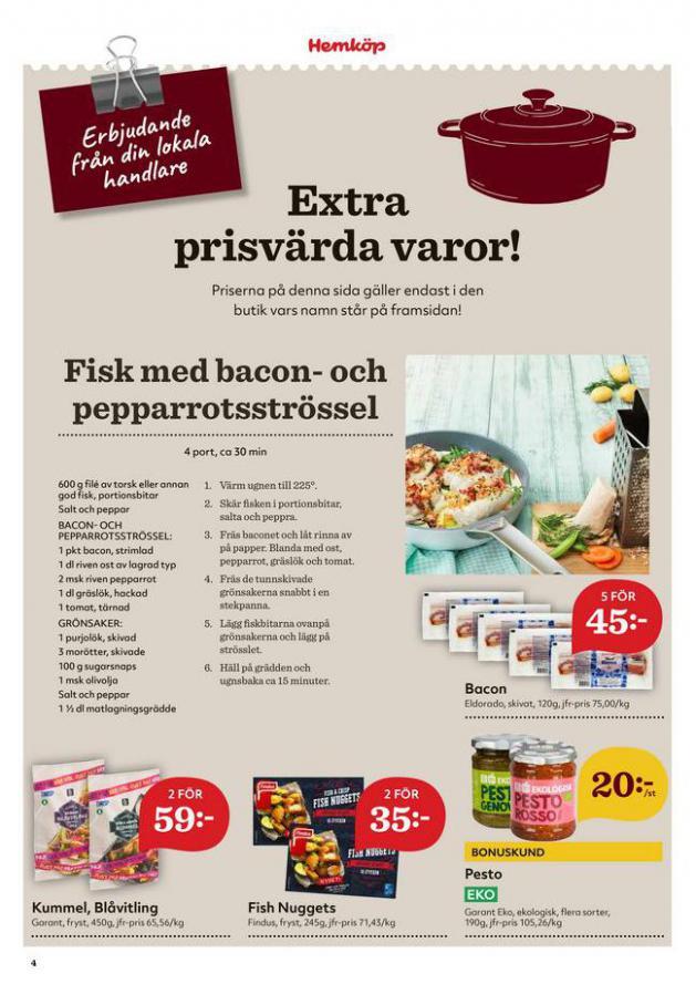 Hemköp reklamblad . Page 4