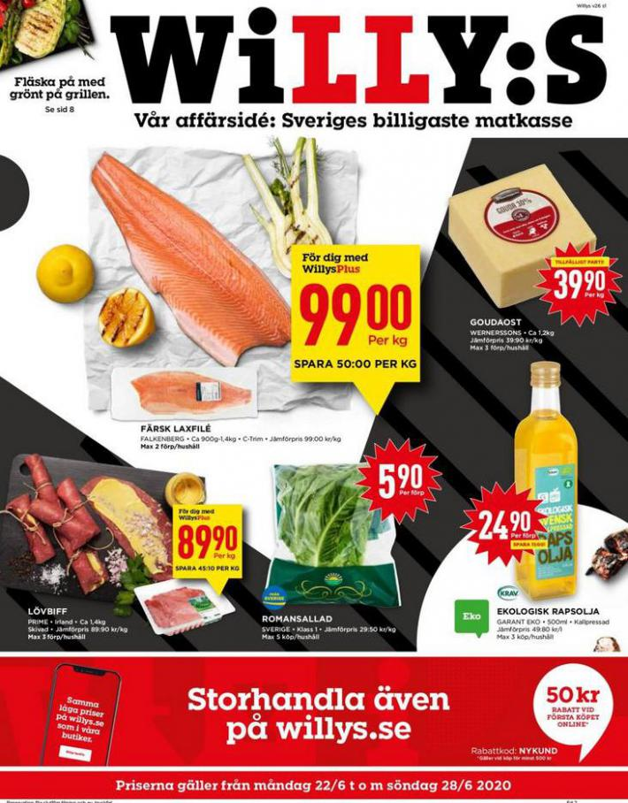 Willys reklamblad . Willys (2020-06-28-2020-06-28)