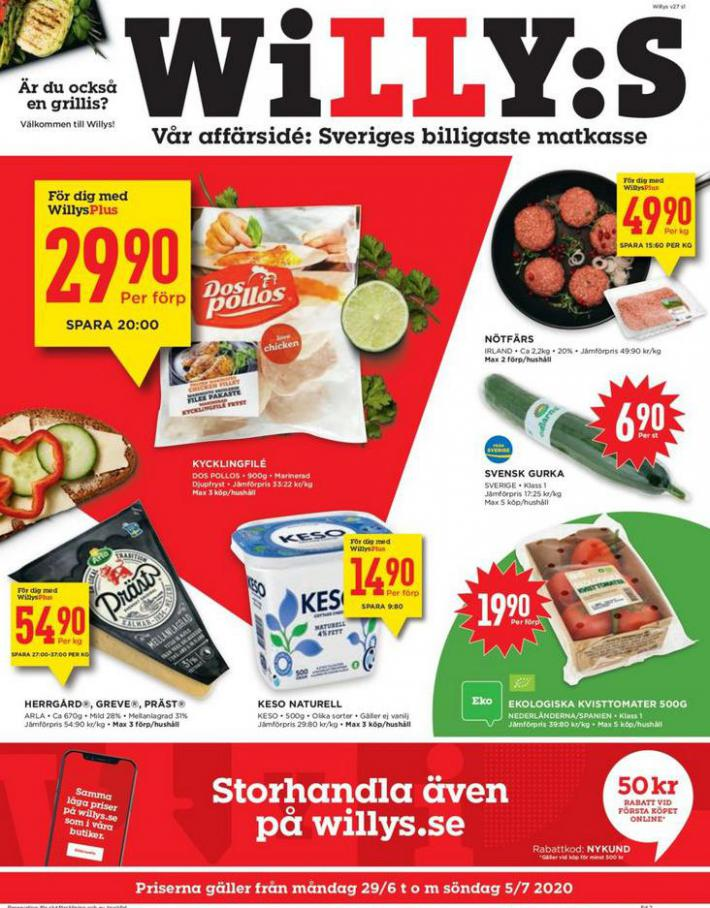 Willys reklamblad . Willys (2020-07-05-2020-07-05)